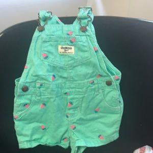 Oshkosh overalls size 12 months.